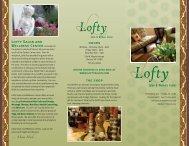 Skin Care - Lofty Salon & Wellness Center