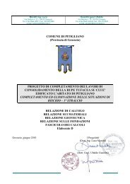 Elaborato D UG Relazione delle strutture - Comune di Pitigliano
