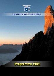 Programma 2012 - CAI Sezione di Treviso