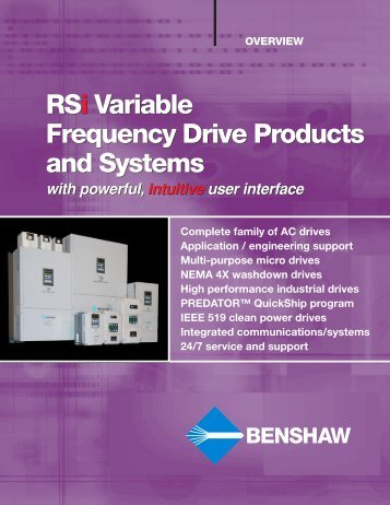 Benshaw Control Systems - C & B Pumps and Compressors