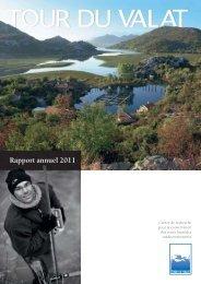 Rapport annuel 2011 - Tour du Valat