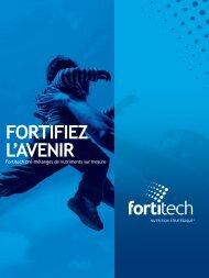 FORTIFIEZ L'AVENIR - Fortitech