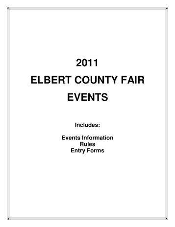 CONCERT & DANCE FEATURING the CACTUS ... - Elbert County Fair