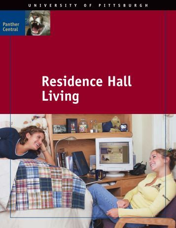 Residence Hall Living - Panther Central - University of Pittsburgh