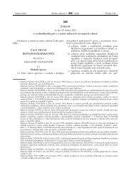 Zákon č. 326/2004 Sb., o rostlinolékařské péči a o změně některých ...