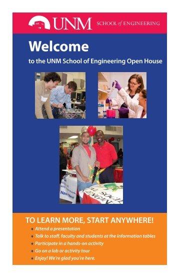 SOE Open House program - view copy - School of Engineering