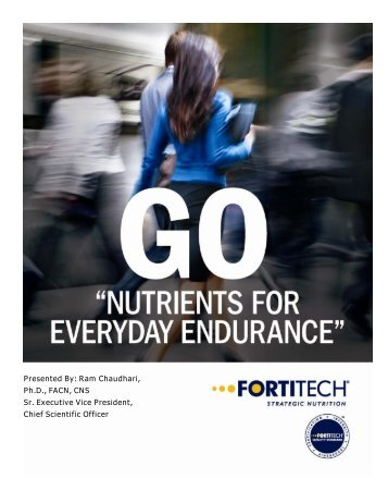 Nutrients for Everyday Endurance_FINAL_ENG.pub - Fortitech