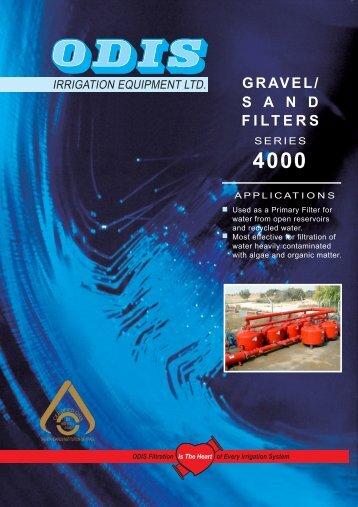 gravel/ sand filters - Netafim