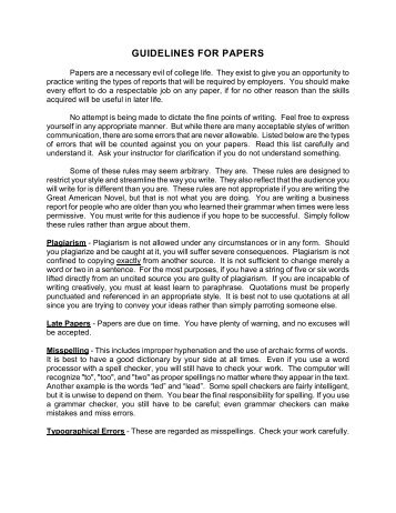 Guidelines for Papers (.pdf format) - Personal Web Pages