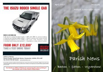 April 2012 - Wyverstone Parish Council