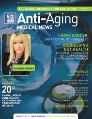 MedicAl News - American Academy of Anti-Aging Medicine