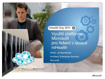 Využití platformy Microsoft pro řešení v oblasti mHealth