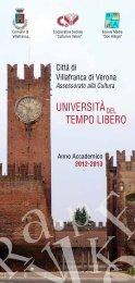 università tempo libero - Comune di VILLAFRANCA DI VERONA