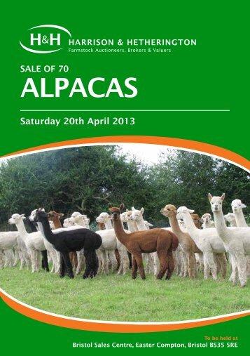 AlpACAS - Harrison & Hetherington