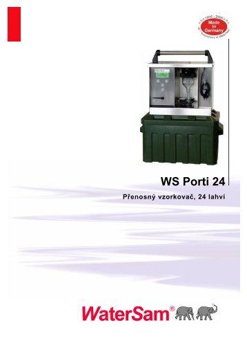 Katalogový list WS Porti 24 [PDF, 0.67 MB] - TECHNOPROCUR CZ