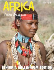 ETHIOPIA MILLENNIUM EDITION - Travel Magazine