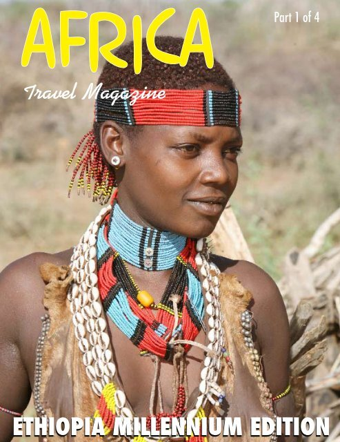 ETHIOPIA MILLENNIUM EDITION - Travel Magazine