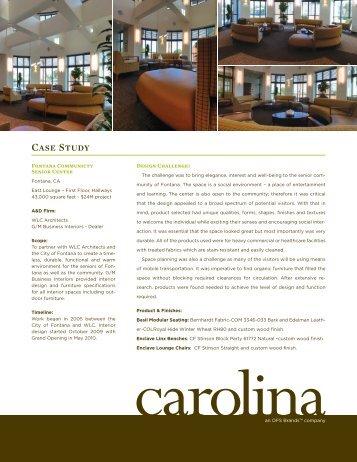 Fontana Community Senior Center - Carolina