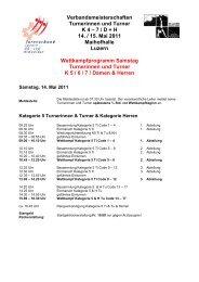 Verbandsmeisterschaften Turnerinnen und Turner K 4 ... - STV Luzern