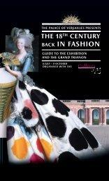 The 18th Century Back in Fashion - Château de Versailles