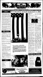 9/11 becomes annual memorial in '2002 - Local History Archives