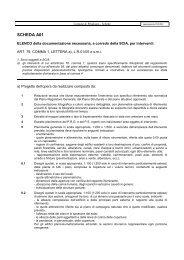 Schede A SCIA - Comune di Pitigliano