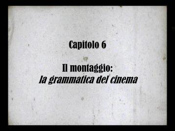 Il montaggio - Cineformica.org