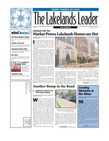July 2003 Lakelands Leader