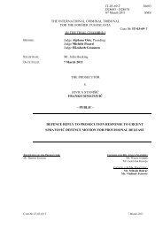 defence reply to prosecution response to urgent simatović defence ...