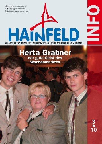 Herta Grabner - Wir Hainfelder