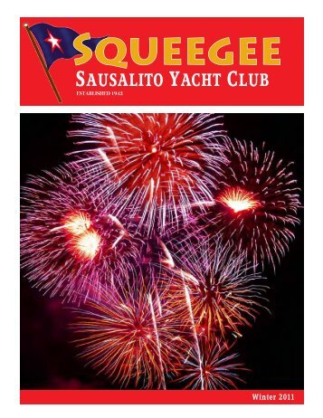 Winter 2011 Squeegee - Sausalito Yacht Club