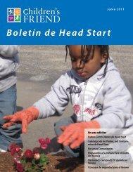 Boletín de Head Start