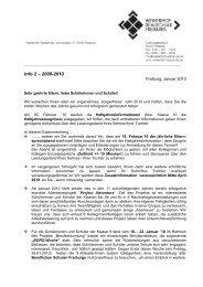 Info-Brief 2 / 2009/2010 - Weiherhof-Realschule