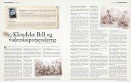 Klondyke Bill og videnskapsmenderne - Friluftsliv