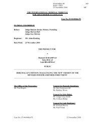 Case No. IT-04-84bis-PT 23 November 2010 THE INTERNATIONAL ...