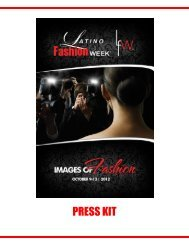 LFW 2012 Media Kit - Latino Fashion Week