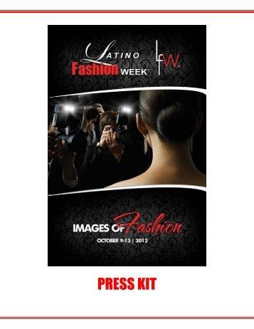 LFW 2012 Media Kit - Latino Fashion Week