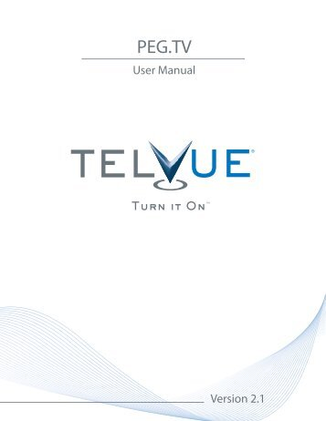 PEG.TV - TelVue