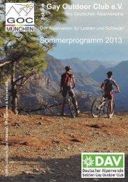 Sommerprogramm 2013 - napex
