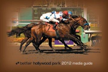 2012 Media Guide - Hollywood Park