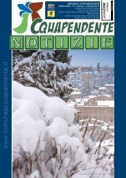 Gennaio - Febbraio 2012 - Comune di Acquapendente