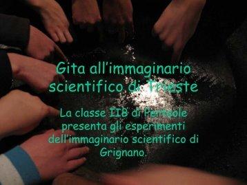 Visita all'Immaginario Scientifico - Icdestratorre.it