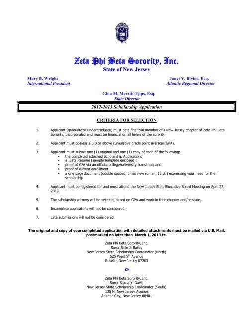 scholarship instructions  u0026 application