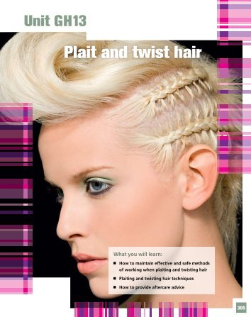 Plait and twist hair - Pearson Schools