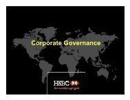 Corporate Governance - HSBC