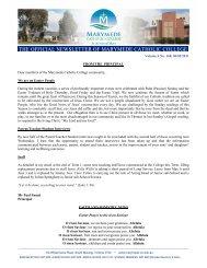 Volume 6 No 168 06-05-2011 - Marymede Catholic College