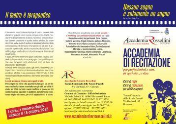 ACCADEMIA DI RECITAZIONE - Lazionauta