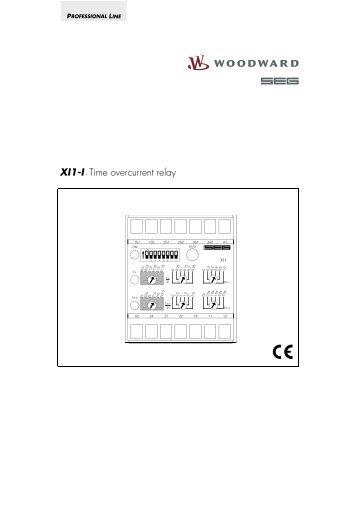 XI1-I - Time overcurrent relay