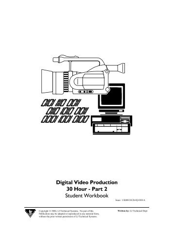 30 Hour Digital Video Workbook 2.pdf - Firestone High School