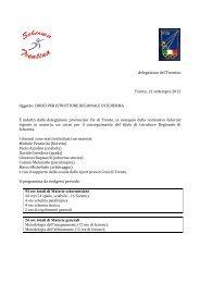 corso istruttori.pdf - FIS - Comitato Regionale Veneto